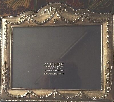 English Hallmarked Silver PHOTO  FRAME Sheffield 2004  Perfec