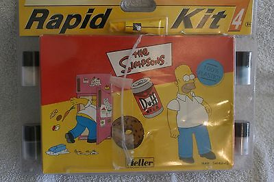 COLLECTABLE - The SIMPSONS - HOMER plastic self-assembly model 20pcs RARE