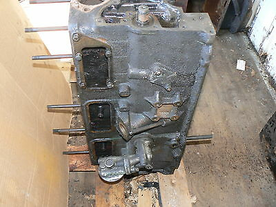 Austin Healey 100-6 Engine Block With Most Parts + *Piston Stuck * 26D