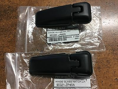 New Oem Nissan Pair Of (2)  Rear Tailgate Window Hinges - 2005-2012 Pathfinder