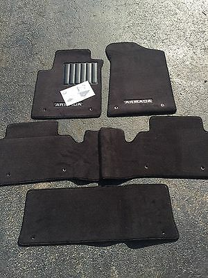 Amazing New Oem 2017 2018 Nissan Armada 4 Pce Carpet Floor Mats W 2Nd Row Bench