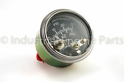 Murphy 20P7-30- Oil Pressure Gauge, 0-30psi with Lockout (05703204)