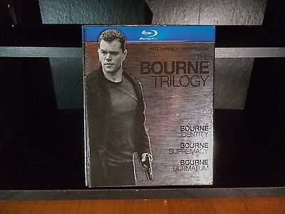 The Bourne Trilogy - Blu-Ray - 2010 Release