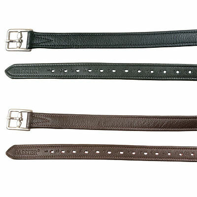 Passier Nylon Lined Real Calfskin Leather Strirrup Leathers | Brown | 170CM