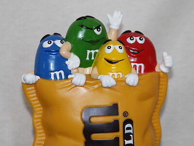 """FINAL OFFER: 2000 M&M's World """"YELLOW CHARACTER COIN BANK"""" LV Store Excel Cond."""
