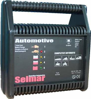 Selmar Guardian Automotive Batterie Charger 12V 4A