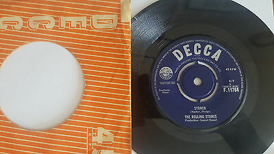 -Vintage 45' -The Rolling Stones - Stoned