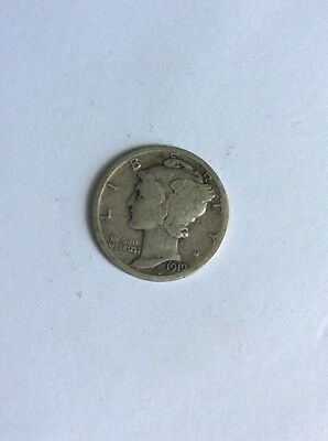 United States - Mercury Dime 1919