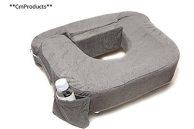 My Best Friend Twin Deluxe Nursing Pillow Evening, Dark Grey
