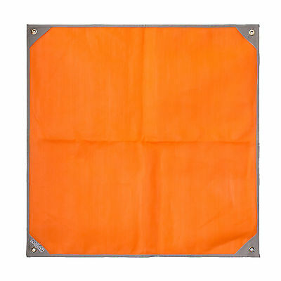 CGear Sand-Free Personal Mat 3' X 3' With Carry Bag Orange