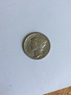United States - Mercury Dime 1942