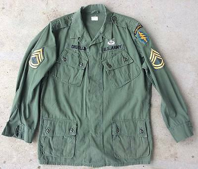 Vietnam War 1st Pattern Named 5th Special Forces Group Jungle Jacket