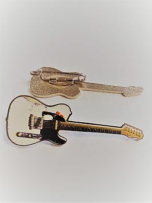 Telecaster Badge Enamel Pin Badge As Played by Status Quo's Rick Parfitt