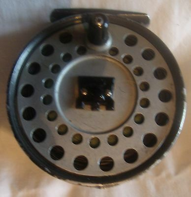 """Hardy Viscount 140 Vintage Fly Fishing Reel and Line in Mint Condition 3 5/8"""""""