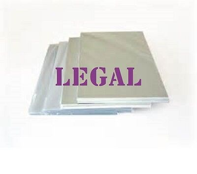 Ultra Clear 200 LEGAL SIZE  Laminating Laminator Pouches Sheets 9 x 14-1/2 3 Mil
