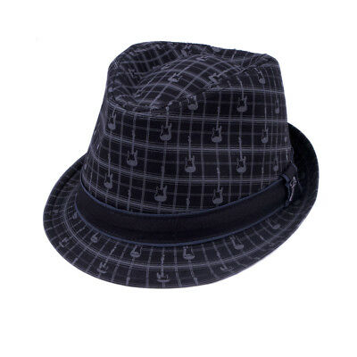 Fender Axe Plaid Fedora - L/XL