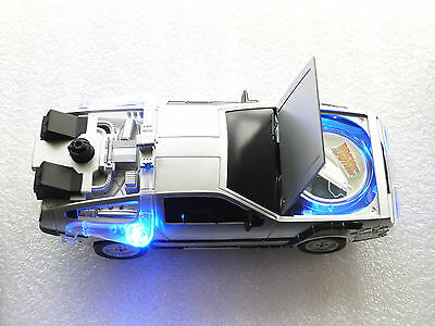 2015 tuvalu back to the future delorean $1 un dollar silver proof coin box coa