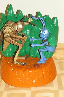 Disney  A Bug's Life Hopper & Flik Electronic Talking Bank Pixar~ Thinkway Toys