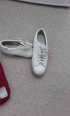 ladies leather bowling shoes