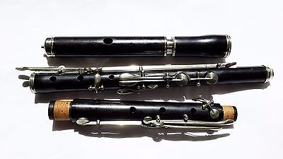 Restored antique wooden German 10 key flute by Adler - with video
