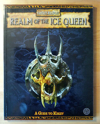 Realm Of The Ice Queen Wfrp Games Workshop Warhammer Fantasy Role-Play Book
