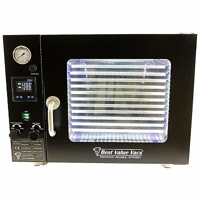 Best Value Vacs 1.9CF BVV Vacuum Oven - 5 Wall Heating, Touch Screen, LED&#3 ...