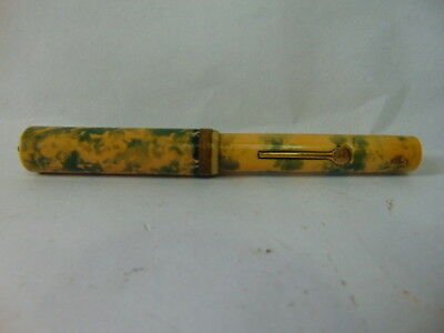 Antique Lever Fountain Pen with a Eagle 14K pen Nip Made in Canada