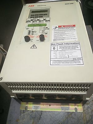 ABB Variable Frequency Drive (VFD) ACH501-020-4-00P2 20HP