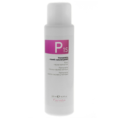 Permanente Capelli FANOLA P1S Permanente Capelli Naturali Grossi 500 ml