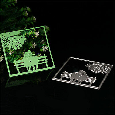 Beautiful Sunset Cutting Dies Stencil Scrapbooking Album Paper Embossing Craft