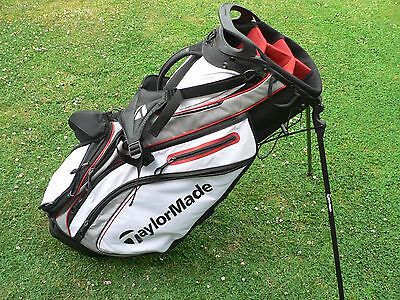 TaylorMade Purelite 2 Thor Stand Bag - Black/Red/White - NEW