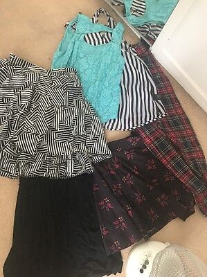 Size 10 / M  Bundle Skirts Tops Leggings Dress