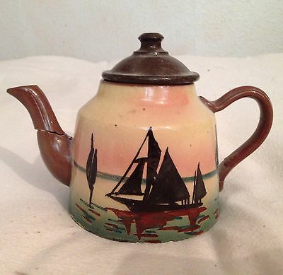 Torquay Ware Motto Ware Tea Pot Damages