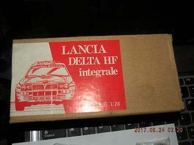 Scale Line 1/24 Lancia Delta Hf Integrale Body Trans Kit Rally Wrc For Hasegawa