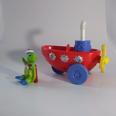 WonderPets Pull String Fly Boat With Tuck 2008 Rare Nick JR. Mattel Toys