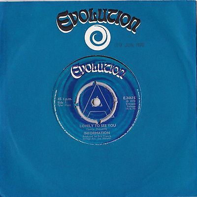 Information - Lovely To See You - Face To The Sun - Evolution UK Psych vinyl EX+