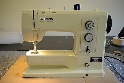 **bernina Record 830 Electronic Sewing Lovely Condition**