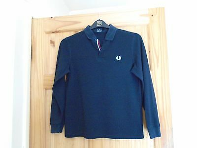 """"""" Fred Perry """" Polo Shirt Large Youth"""