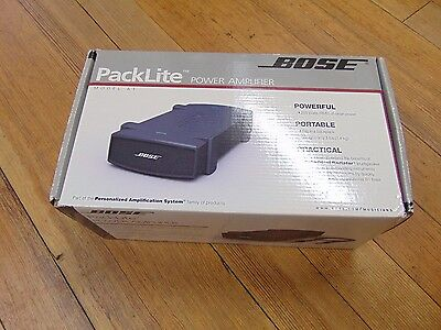 Bose PackLite Model A1 Power Amplifier To Power 2 B1 Bass Modules for L1 System