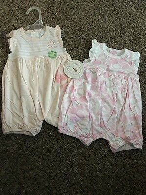 NWT! Girls One Piece Outfit Lot Size 3-6 Months Burt Bees Baby