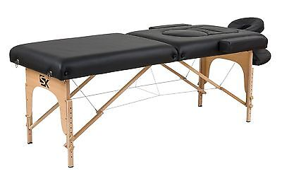 Professional Pregnant portable massage table with extra thickness padding
