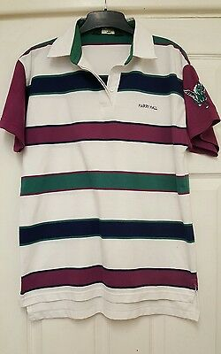 Men Ladies Designer Harry Hall Polo Shirt Medium Horse Riding Summer