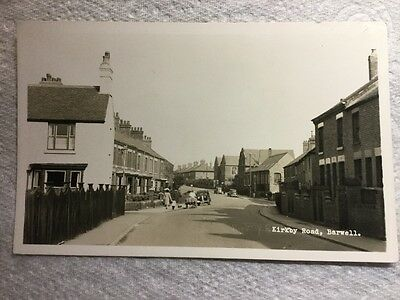 Old Postcard, Kirkby Road, Barwell, Leicestershire