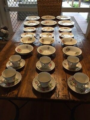 Antiques - Very Old Dinner Set - 30 Pieces, Luxor Ware  Reg No.837606