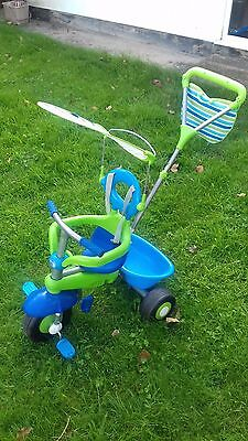 Smart Trike 3 in 1 BLUE-GREEN. Used but in good condition.