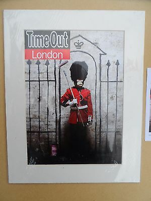 Banksy London Time Out Magazine. Brand New. Without C.O.A.