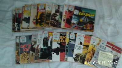 Battle Picture Library  Fleetway Library job lot x 24 from number 1021 to 1704