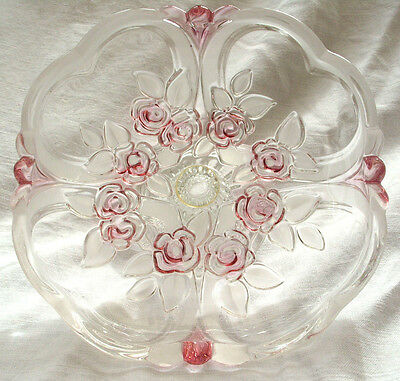 """Walther Glass Cake Stand - Dia. 7"""""""