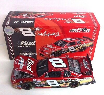 Dale Earnhardt Jr. #8 2002 Budweiser - Mlb All-Star Game 1/24 Scale Monte Carlo