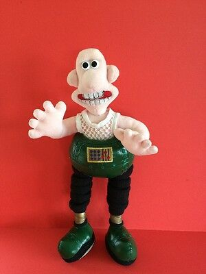 Wallace And Gromit - Wrong Trousers 16 Inches Tall Wallace Soft Toy Rare